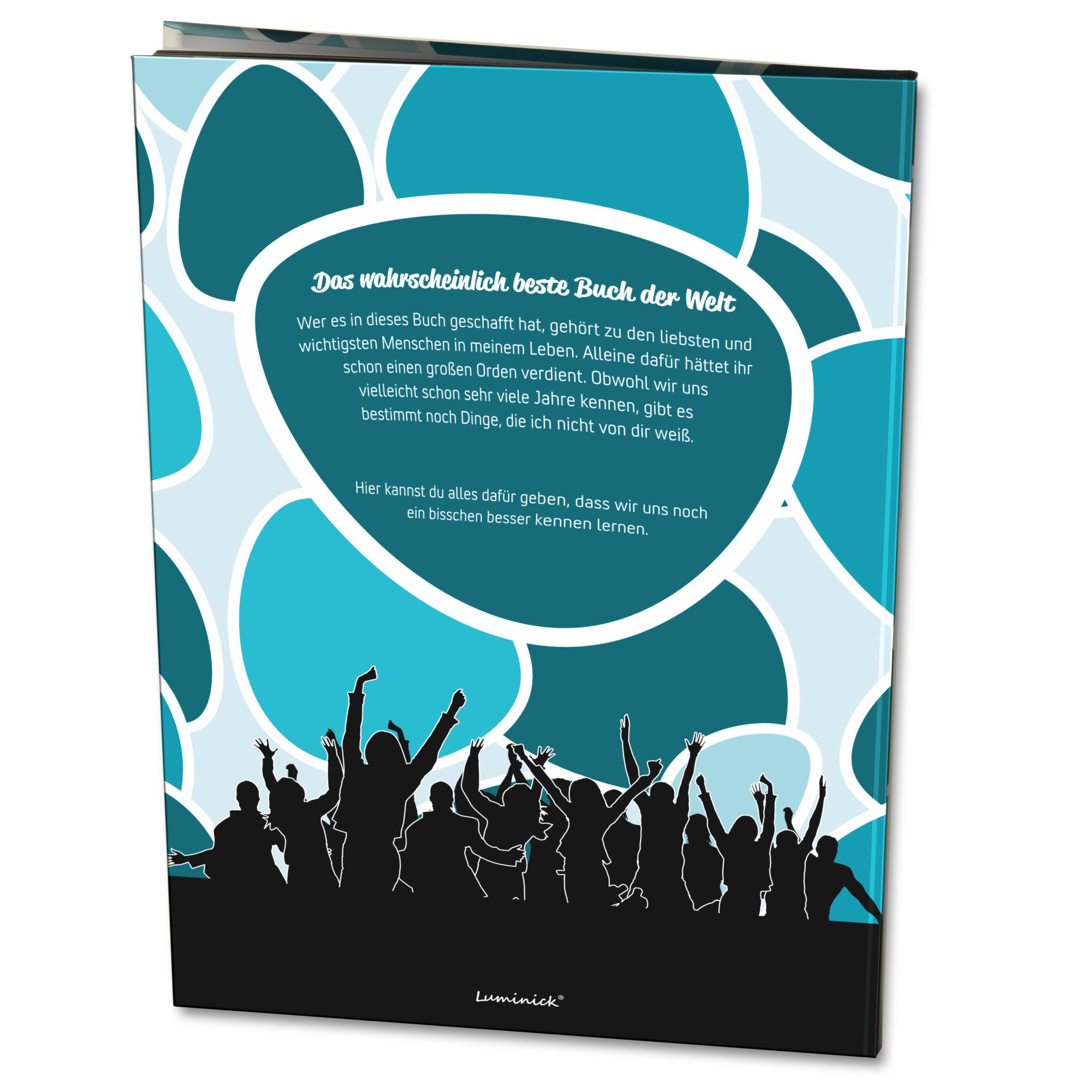 xxl freundebuch für erwachsene din a4 • luminick